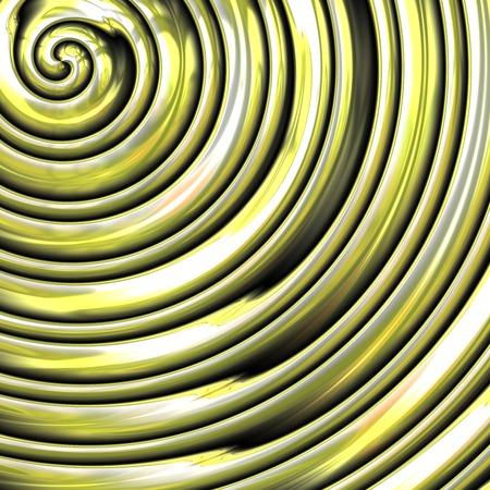 Metal spiral generated texture