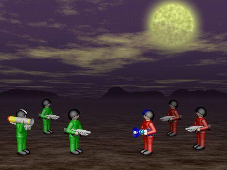 moor: Toy soldiers in dark land