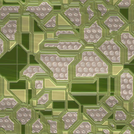ic: Circuits abstract seamless generated texture