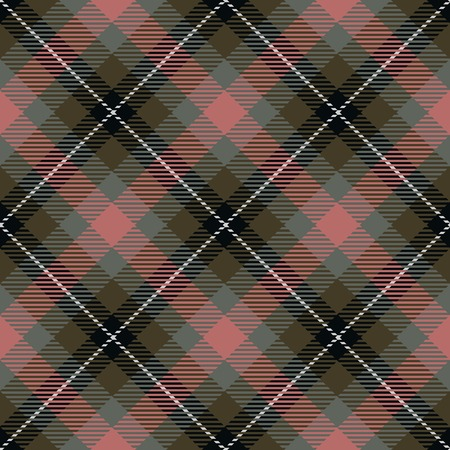 generated: Tartan seamless generated texture Stock Photo