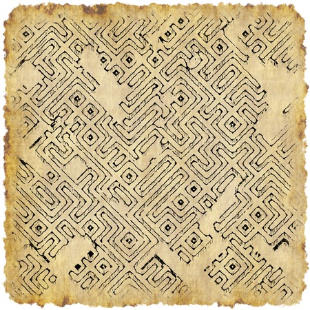 dungeon: Abstract dungeon map generated texture Stock Photo