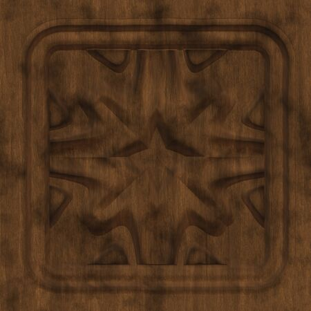 Wooden tile generated seamless texture photo