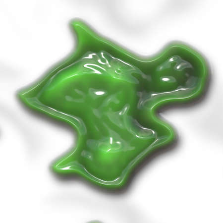mucus: Slime generated texture