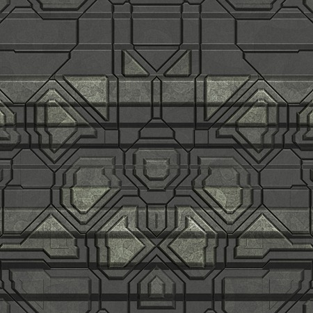 Metal pattern generated seamless texture Stock Photo - 41878605