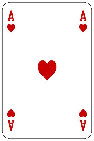 ポーカー トランプのエースの心