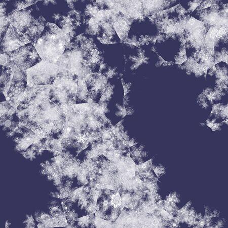 iceflower: Iceflowers on glass seamless generated texture Stock Photo