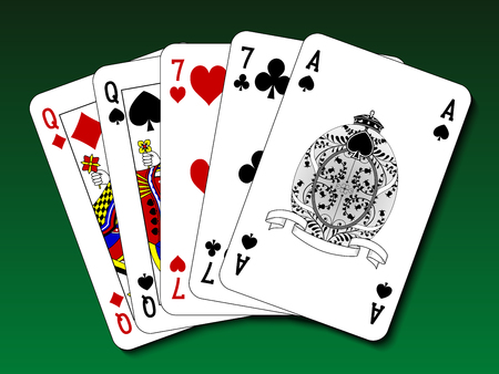 two: Poker hand - Two pair