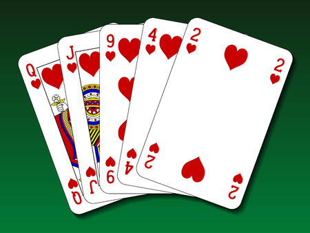 flush: Poker hand - Flush