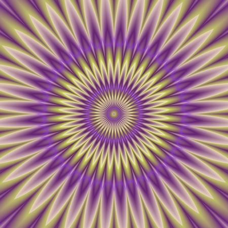 hypnotism: Psycho floral pattern generated texture