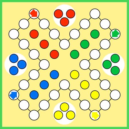 board game: Ludo board game