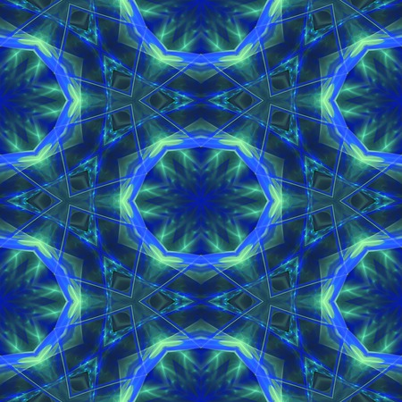 Kaleidoscopic seamless generated texture Stock Photo - 54337559