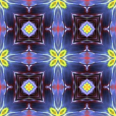 Kaleidoscopic seamless generated texture