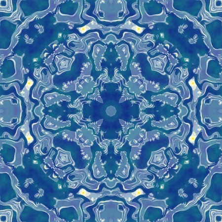 generated: Kaleidoscopic seamless generated texture