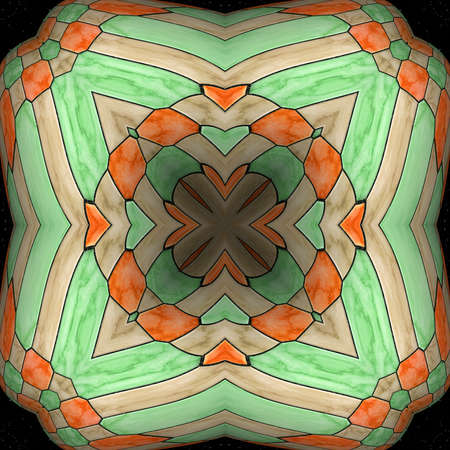 tile: Ornamental pattern wallpaper tile