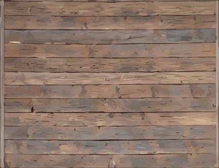 vecteur de planche de bois texture Vecteurs