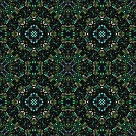 generated: Kaleidoscopic seamless generated texture
