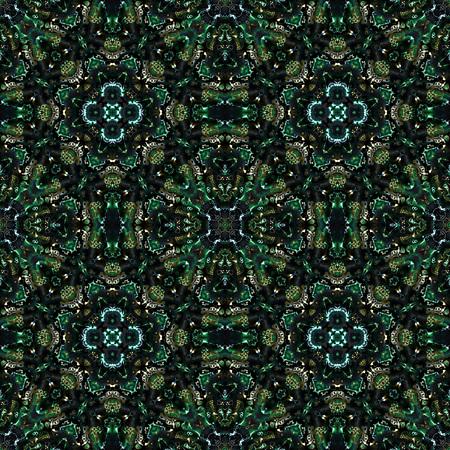Kaleidoscopic seamless generated texture Stock Photo - 55150331