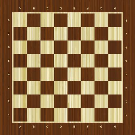 木製ベクトル チェス盤  イラスト・ベクター素材