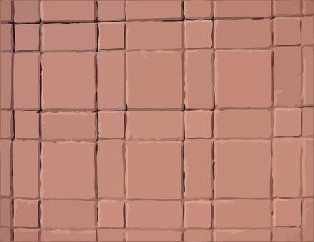 road paving: Pavement slabs vector texture Illustration