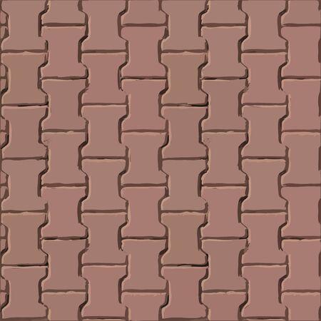 slabs: Pavement slabs vector texture Illustration