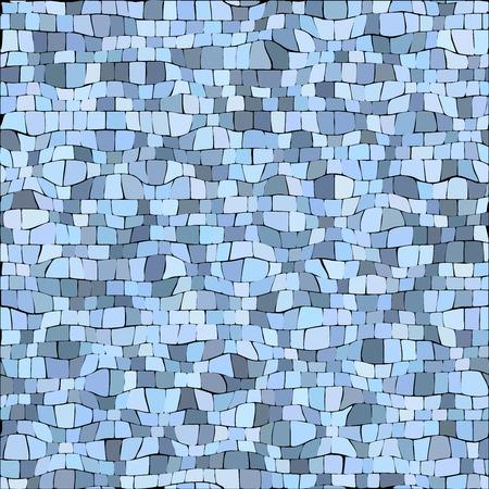 graffito: Abstract color mosaic animals pattern Illustration