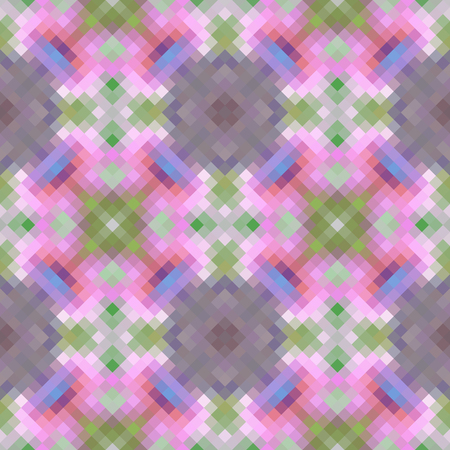 rhomb: Kaleidoscopic low poly rhomb style vector mosaic background Illustration