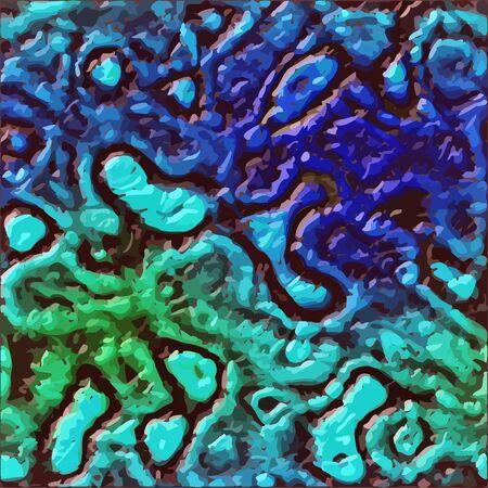 mire: Alien skin organic liquid vector texture