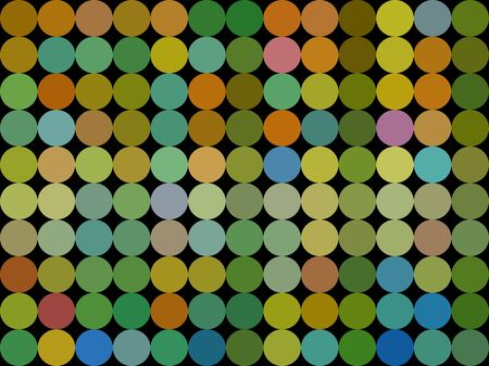triangle shaped: Colors low poly circle style vector mosaic background
