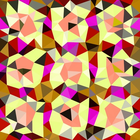 triangle shaped: Kaleidoscopic low poly triangle style vector mosaic background