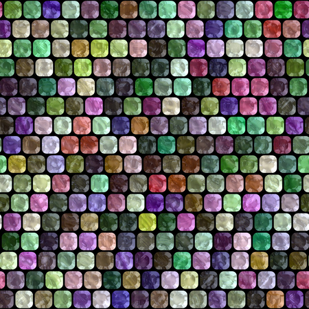 hires: Glass tiles seamless generated hires texture