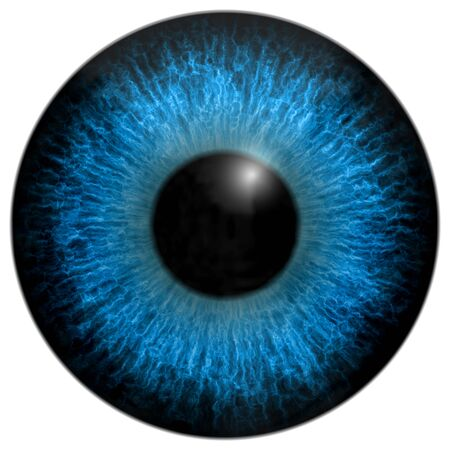 generated: Eye iris generated hires texture Stock Photo