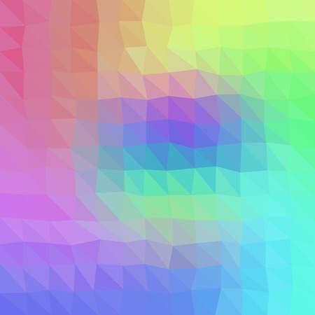 Gradient low poly triangle style vector mosaic background Illustration