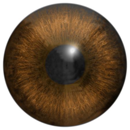 hires: Eye iris generated hires texture Stock Photo