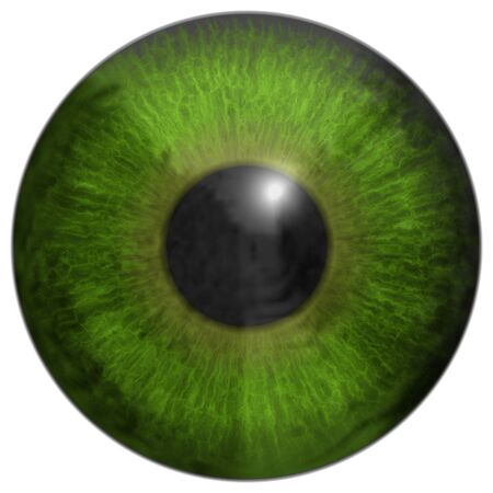 dilated pupils: Eye iris generated hires texture Stock Photo