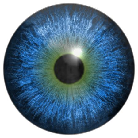 cornea: Eye iris generated hires texture Stock Photo