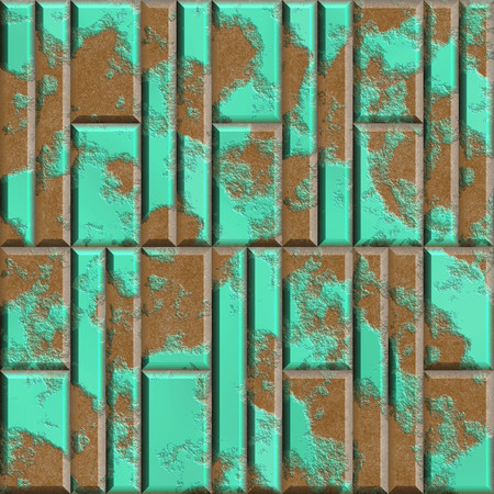 Rusty metal panels seamless generated hires texture