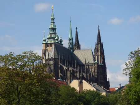 vitus: St. Vitus Cathedral in Prague