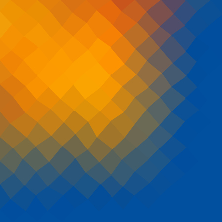 triangle shaped: Gradient low poly triangle style mosaic background