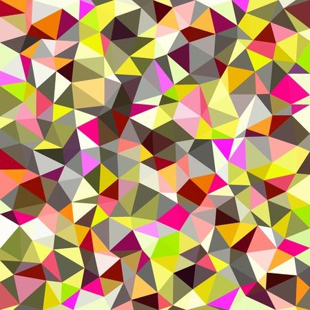 diamond shaped: Kaleidoscopic low poly triangle style mosaic background