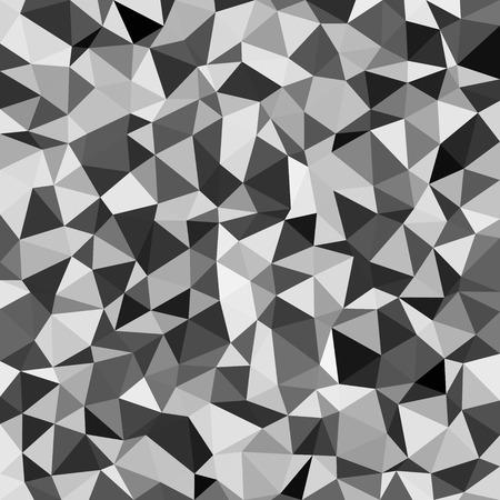 diamond shaped: Kaleidoscopic low poly triangle style