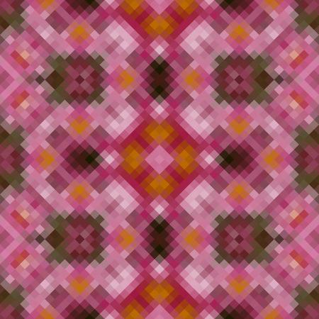 rhomb: Kaleidoscopic low poly rhomb style mosaic background