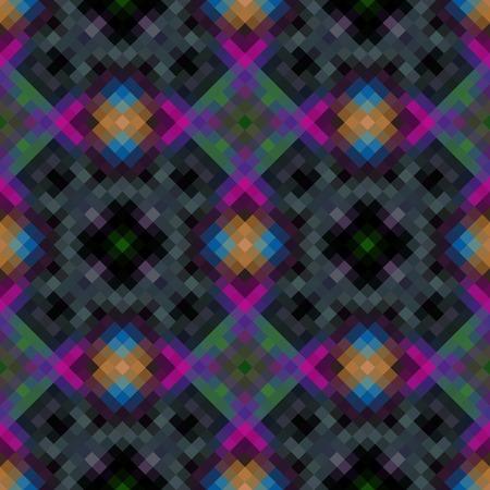 rhomb: Kaleidoscopic low poly rhomb style vector mosaic background Illustration