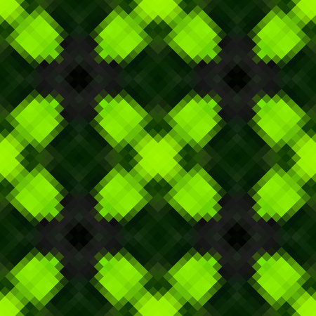 diamond shaped: Kaleidoscopic low poly rhomb style vector mosaic background Illustration