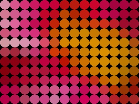 diamond shaped: Gradient low poly circle style vector mosaic background
