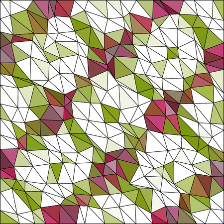diamond shaped: Kaleidoscopic low poly triangle style vector mosaic background