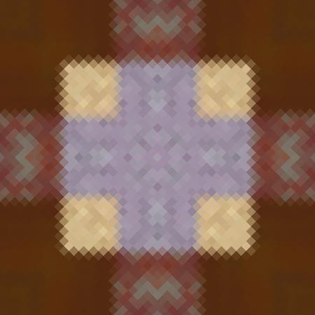 rhomb: Kaleidoscopic low poly rhomb style vector mosaic background.