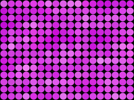 Gradient low poly circle style vector mosaic background.