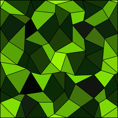 rhomb: Kaleidoscopic low poly triangle style vector mosaic background. Illustration