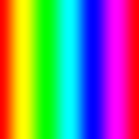 Rainbow spectral gradient Stock Photo