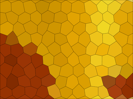 Gradient low poly hexagon style vector mosaic background Illustration
